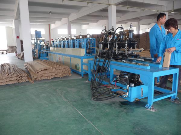 ZJD-100A单用纸护角生产线